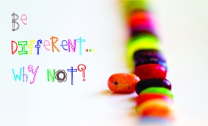 be different.. why not?!